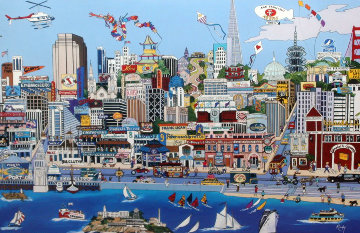 Heart of San Francisco (CA) Limited Edition Print - Sharie Hatchett Bohlmann