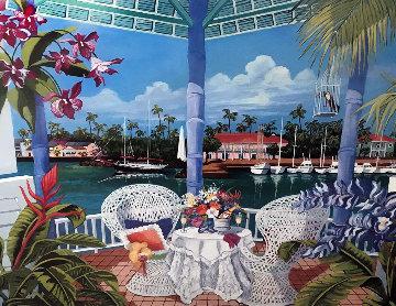 Tropical Hideaway 1990 Limited Edition Print by Shari Hatchett Bohlmann