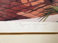 Tropical Afternoon 1990 Limited Edition Print by Sharie Hatchett Bohlmann - 2