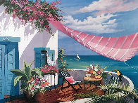 Tropical Afternoon 1990 Limited Edition Print by Sharie Hatchett Bohlmann - 0