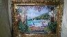 Champagne Wishes 1991 Pioneer Inn Maui 36x48 Hawaii Original Painting by Sharie Hatchett Bohlmann - 5