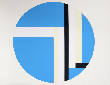 Series 2 1970 Limited Edition Print by Ilya Bolotowsky