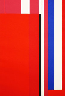 Untitled Silkscreen Limited Edition Print by Ilya Bolotowsky