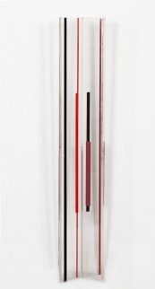Untitled Acrylic Sculpture 30 in Sculpture - Ilya Bolotowsky