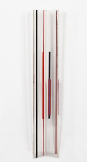 Untitled Acrylic Sculpture 30 in Sculpture by Ilya Bolotowsky