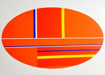 Oval AP 1979 Limited Edition Print - Ilya Bolotowsky