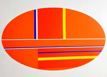 Oval AP 1979 Limited Edition Print by Ilya Bolotowsky