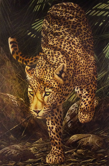 Evening Prowl 2006 Limited Edition Print by Andrew Bone