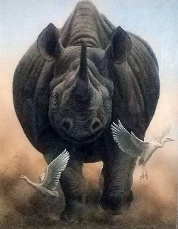 Coming Through 2012 Limited Edition Print by Andrew Bone