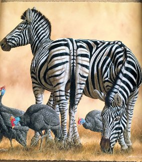 Spots And Stripes 2014  Limited Edition Print by Andrew Bone