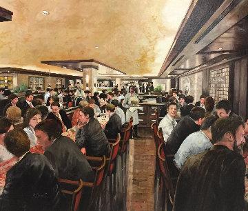 Ciao! 2011 36x40 Original Painting - Guido Borelli