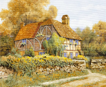 Il Salice Inglese 2018 20x24 Original Painting by Guido Borelli