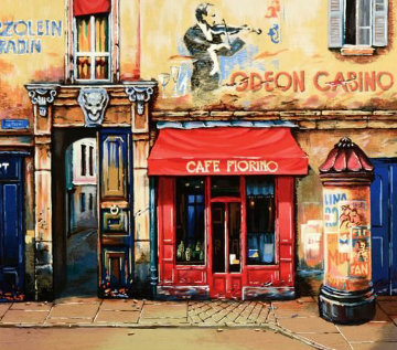Cafe Furino 1980 Limited Edition Print - Alexander Borewko