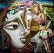 Dreamscape 48x48 Original Painting by Misha Borisoff - 0