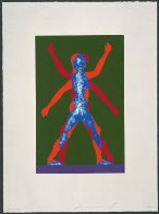 Male / Female, 2000 Limited Edition Print by Jonathan Borofsky - 1