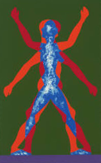 Male / Female, 2000 Limited Edition Print by Jonathan Borofsky