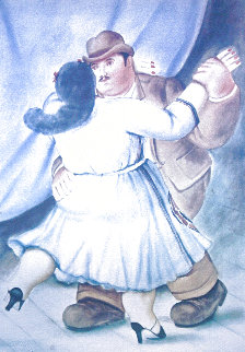 Les Danseurs 1985 Limited Edition Print - Fernando Botero