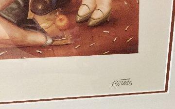 La Maison De Raquel Vega 1984 Limited Edition Print - Fernando Botero