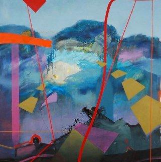 Sharing the Vision 2006 96x82  Huge Original Painting - Daniel Bottero