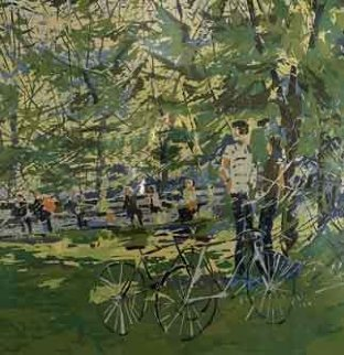 Summer Day in the Park  Limited Edition Print by Italo Botti