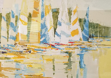 Untitled (Sunset Sails) Limited Edition Print by Italo Botti