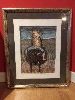 Enfant Sur Bufle Limited Edition Print by Graciela Rodo Boulanger - 2