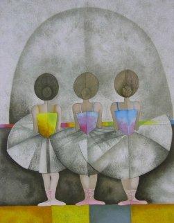 En Troiseme From Les Petite Rat Limited Edition Print - Graciela Rodo Boulanger