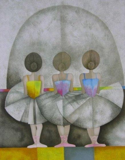 En Troiseme From Les Petite Rat Limited Edition Print by Graciela Rodo Boulanger