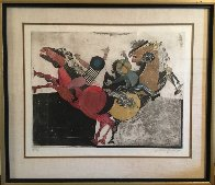 Recoutre a Cheval Limited Edition Print by Graciela Rodo Boulanger - 1