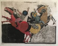 Recoutre a Cheval Limited Edition Print by Graciela Rodo Boulanger - 2