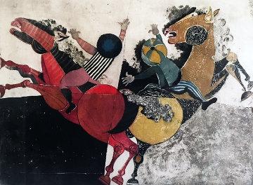 Recoutre a Cheval Limited Edition Print - Graciela Rodo Boulanger