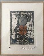 Le Violin 1975 Limited Edition Print by Graciela Rodo Boulanger - 1