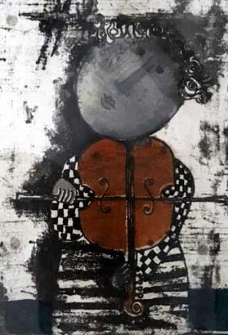 Le Violin 1975 Limited Edition Print by Graciela Rodo Boulanger