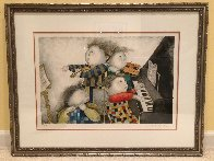 Piano Concerto 1996 Limited Edition Print by Graciela Rodo Boulanger - 1