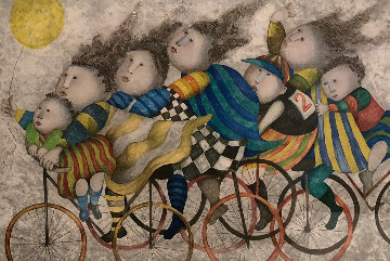 Journey a La Campagne 1997 Limited Edition Print by Graciela Rodo Boulanger