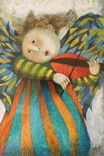 Musique Des Anges  1981 Limited Edition Print by Graciela Rodo Boulanger