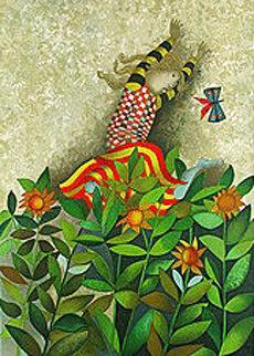Un Papillion Pour Aniko 1979 Limited Edition Print by Graciela Rodo Boulanger