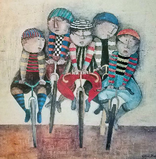 Tour De France  1977 Limited Edition Print by Graciela Rodo Boulanger