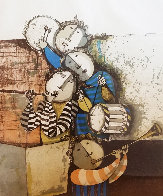 Four Musicians 1990 Limited Edition Print by Graciela Rodo Boulanger - 0