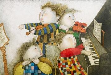 Piano Concerto 1996 Limited Edition Print by Graciela Rodo Boulanger