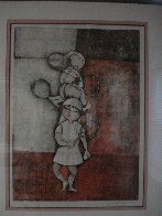 Tennis 1976 Limited Edition Print by Graciela Rodo Boulanger - 1