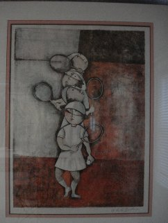 Tennis 1976 Limited Edition Print - Graciela Rodo Boulanger