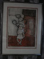 Tennis 1976 Limited Edition Print by Graciela Rodo Boulanger - 2