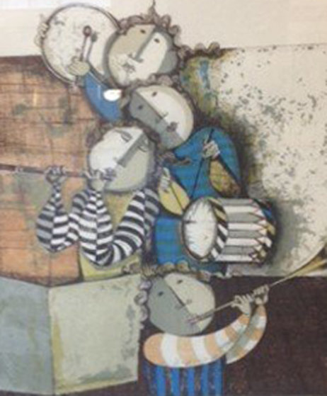 Untitled (Musicians) Limited Edition Print by Graciela Rodo Boulanger