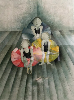 Untitled (Ballet Dancers) Limited Edition Print by Graciela Rodo Boulanger