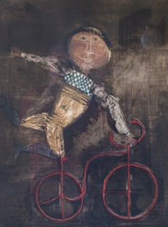 Acrobat Avec Bicyclette Limited Edition Print - Graciela Rodo Boulanger