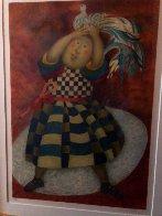 l'oiseau Rare  1993 Limited Edition Print by Graciela Rodo Boulanger - 1