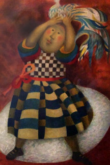 l'oiseau Rare  1993 Limited Edition Print by Graciela Rodo Boulanger