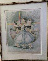 Les Petit Rats: Apres La Danse  Limited Edition Print by Graciela Rodo Boulanger - 1