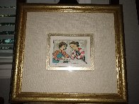 Untitled Portrait of Two Girls Playing Cards Limited Edition Print by Graciela Rodo Boulanger - 2
